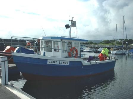 Lady Linda chartered by Sean Mckay, Ballycastle