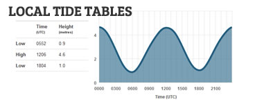 Local Tide Tables