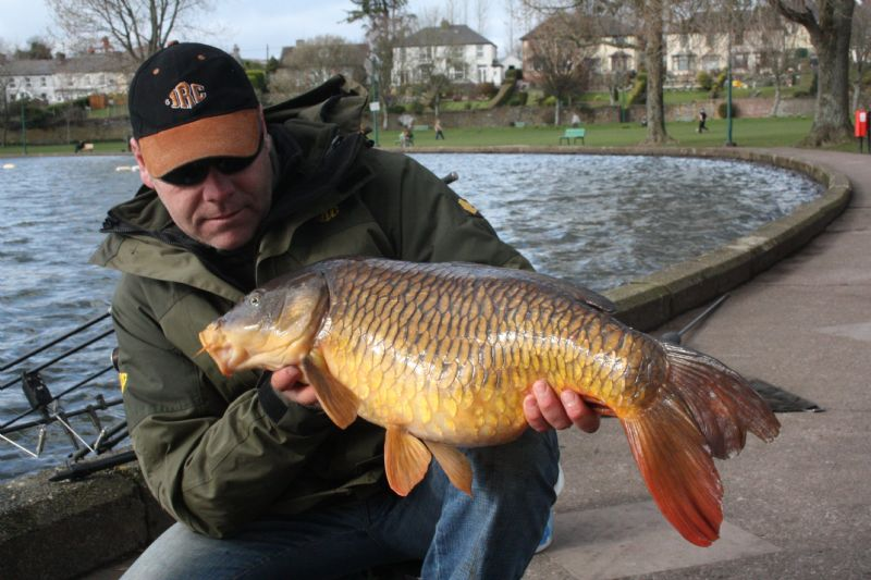 Early season Carp angling