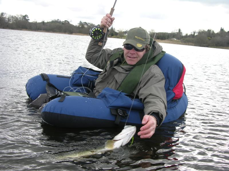 float tubing for pike pike on the fly irish pike terrys