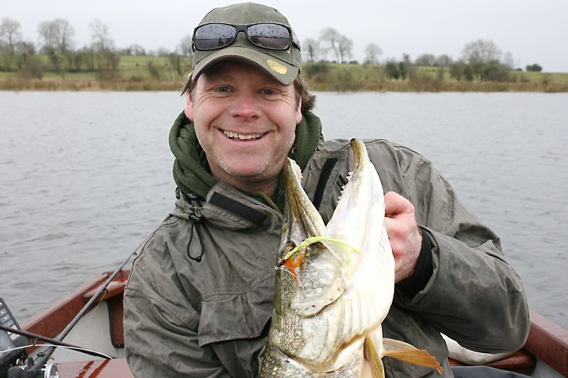 Pike Angling at the Melview Lodge, Longford