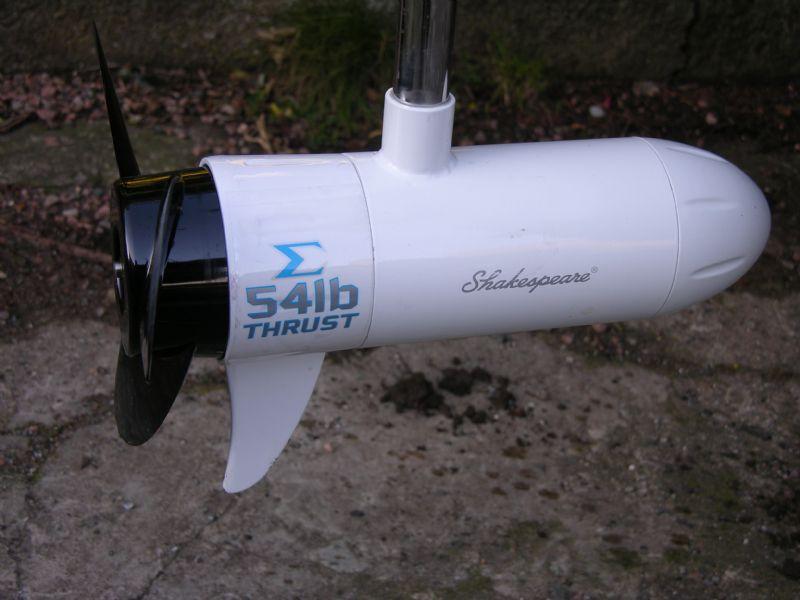 Boat Engine Shakespeare Sigma 44lb Electric Motor